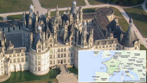 Guía de castillos de Francia